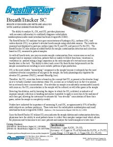 BreathTracker SC