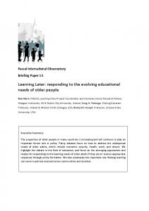 Briefing Paper 13 Mark (English) - PASCAL International Observatory