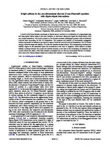 Bright solitons in the one-dimensional discrete ... - APS Link Manager
