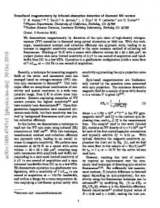 Broadband magnetometry by infrared-absorption detection of nitrogen ...