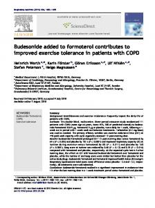 Budesonide added to formoterol contributes to improved exercise ...