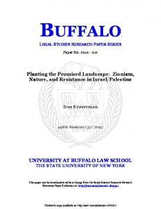 buffalo - (SSRN) Papers