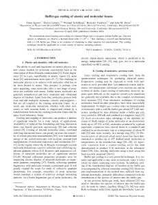 Buffer-gas cooling of atomic and molecular beams