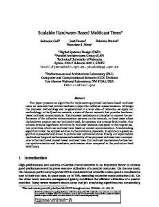 Buffered Coscheduling: A New Methodology for ... - CiteSeerX
