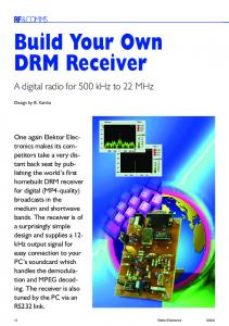 Build Your Own DRM Receiver