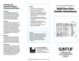 Build Your Own Garden Greenhouse