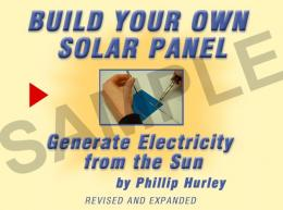 Build Your Own Solar Panel sample pages