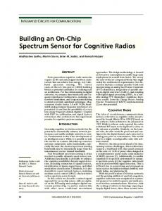 Building an On-Chip Spectrum Sensor for Cognitive ... - IEEE Xplore