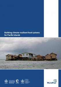 Building climate-resilient food systems for Pacific Islands