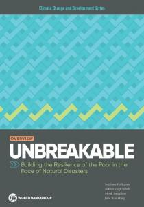 Building the Resilience of the Poor in the Face of Natural Disasters