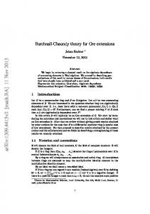 Burchnall-Chaundy theory for Ore extensions