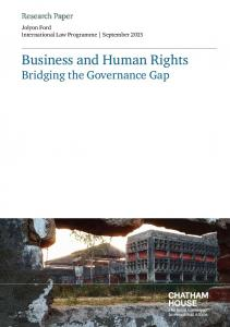 Business and Human Rights - Chatham House