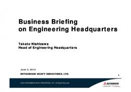 Business Briefing on Engineering Headquarters(PDF 2.5 MB)