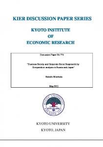 Business Society and Corporate Social Responsibility: Comparative ...
