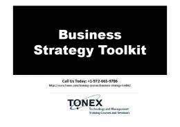 Business Strategy Toolkit