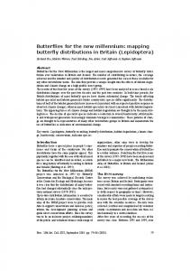 Butterflies for the new millennium - Naturalis repository