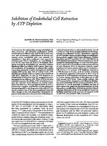 by ATP Depletion - NCBI