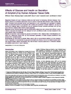by Human Adipose Tissue Cells - Wiley Online Library