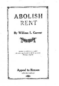 By William L. Carver Appeal to Reason