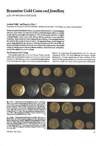 Byzantine gold coins and jewellery - Springer Link