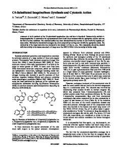 C4-Substituted Isoquinolines: Synthesis and