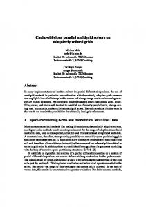 Cache-oblivious parallel multigrid solvers on adaptively refined ... - TUM