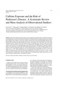 Caffeine Exposure and the Risk of Parkinson's ... - Semantic Scholar