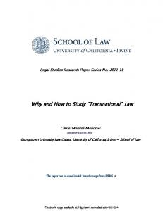California Law Review - SSRN papers