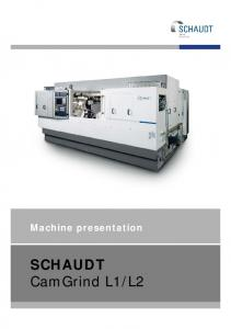 CamGrind L - United Grinding Technologies