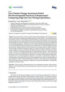 Can Climate Change Awareness Predict Pro ... - MDPIwww.researchgate.net › publication › fulltext › Can-Clima