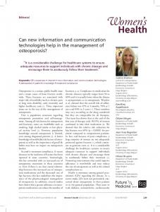 Can new information and communication technologies help in the ...