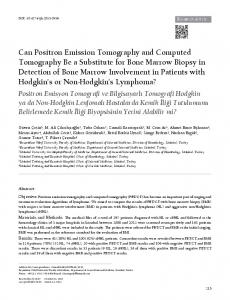 Can Positron Emission Tomography and