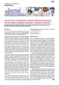 Can the Use of Antibiotics interfere with the