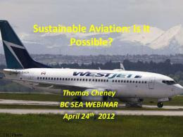 Can we make Aviation Sustainable?