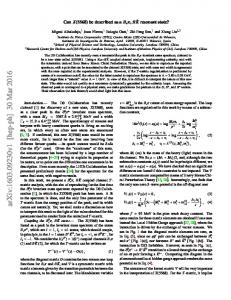 Can $ X (5568) $ be described as a $ B_s\pi $, $ B\bar {K} $ resonant ...
