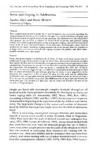 Canadian Journal of Counselling/Revue Canadienne ...