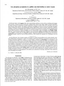 Canadian Journal of Earth Sciences - Earth and Atmospheric Sciences