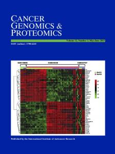 cancer genomics & proteomics