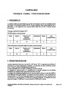 CAPESA EXTERNE et SECONDE CATEGORIE - Physique-Chimie ...