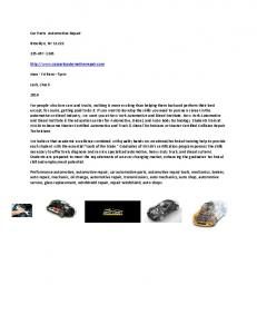 Eaton® Parts and Repair Information - MAFIADOC COM