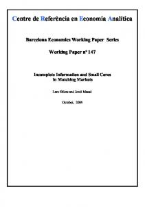 caratula working paper - CiteSeerX