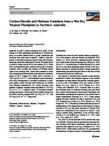 Carbon Dioxide and Methane Emissions from a Wet ...