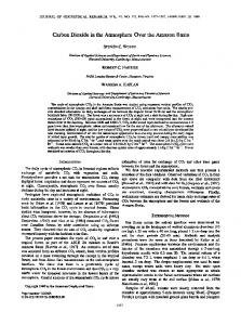 Carbon dioxide in the atmosphere over the ... - Wiley Online Library