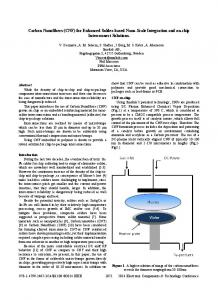 Carbon Nanofibers (CNF) for Enhanced Solder-Based ... - IEEE Xplore