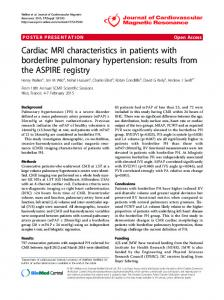 Cardiac MRI characteristics in patients with borderline ... - Springer Link