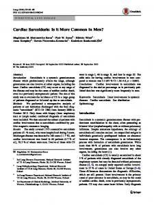 Cardiac Sarcoidosis - Semantic Scholar