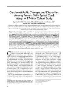 Cardiometabolic Changes and Disparities Among Persons With ...
