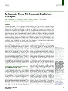 Cardiovascular Disease Risk Assessment: Insights from ... - Core