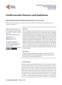 Cardiovascular Diseases and Radiations - Scientific Research ...