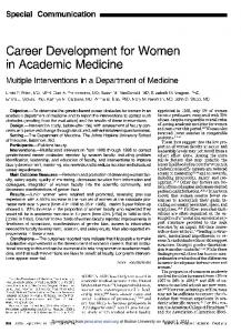 Career Development for Women - Boston University